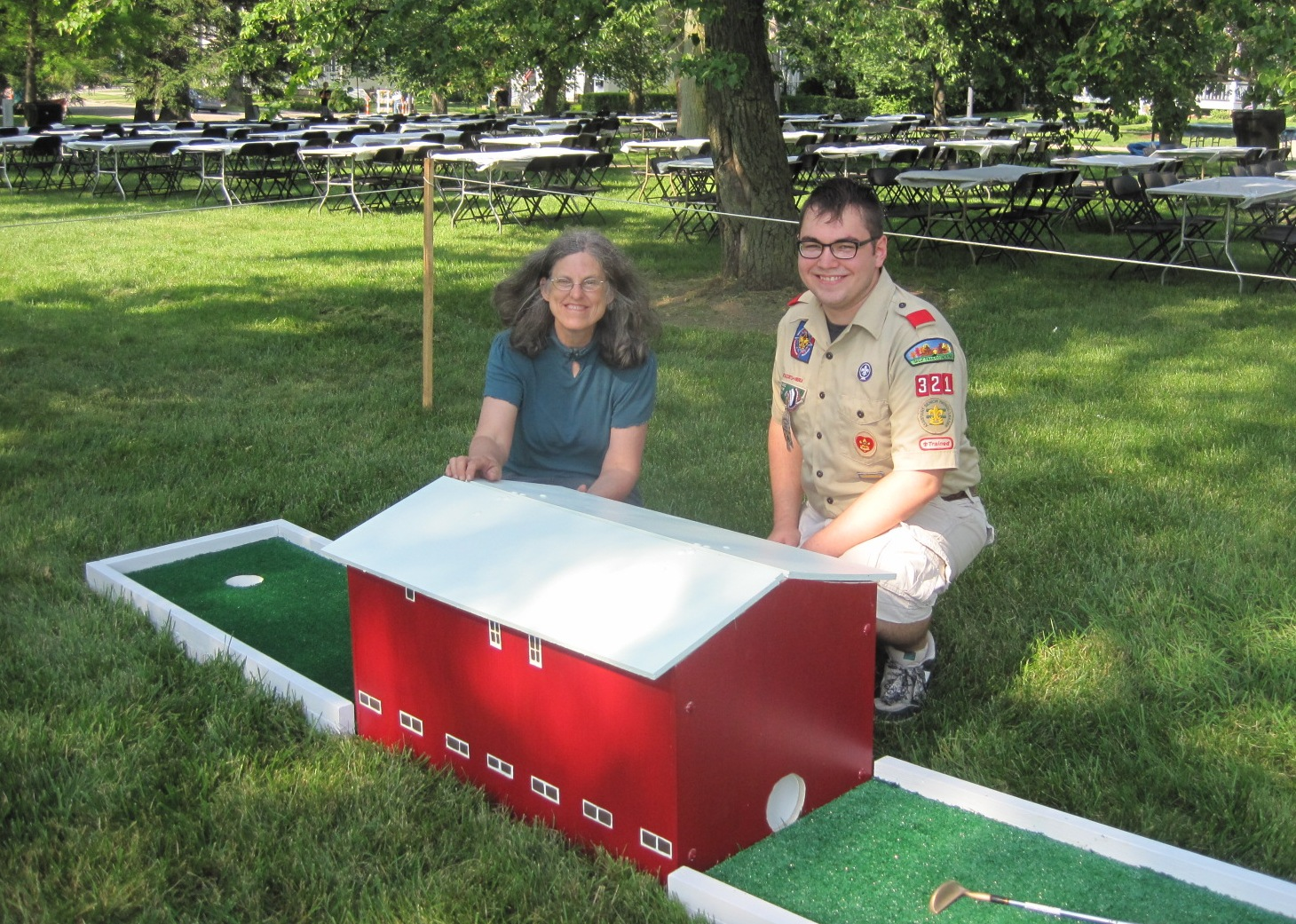 CROPPED Eagle Scout Golf project