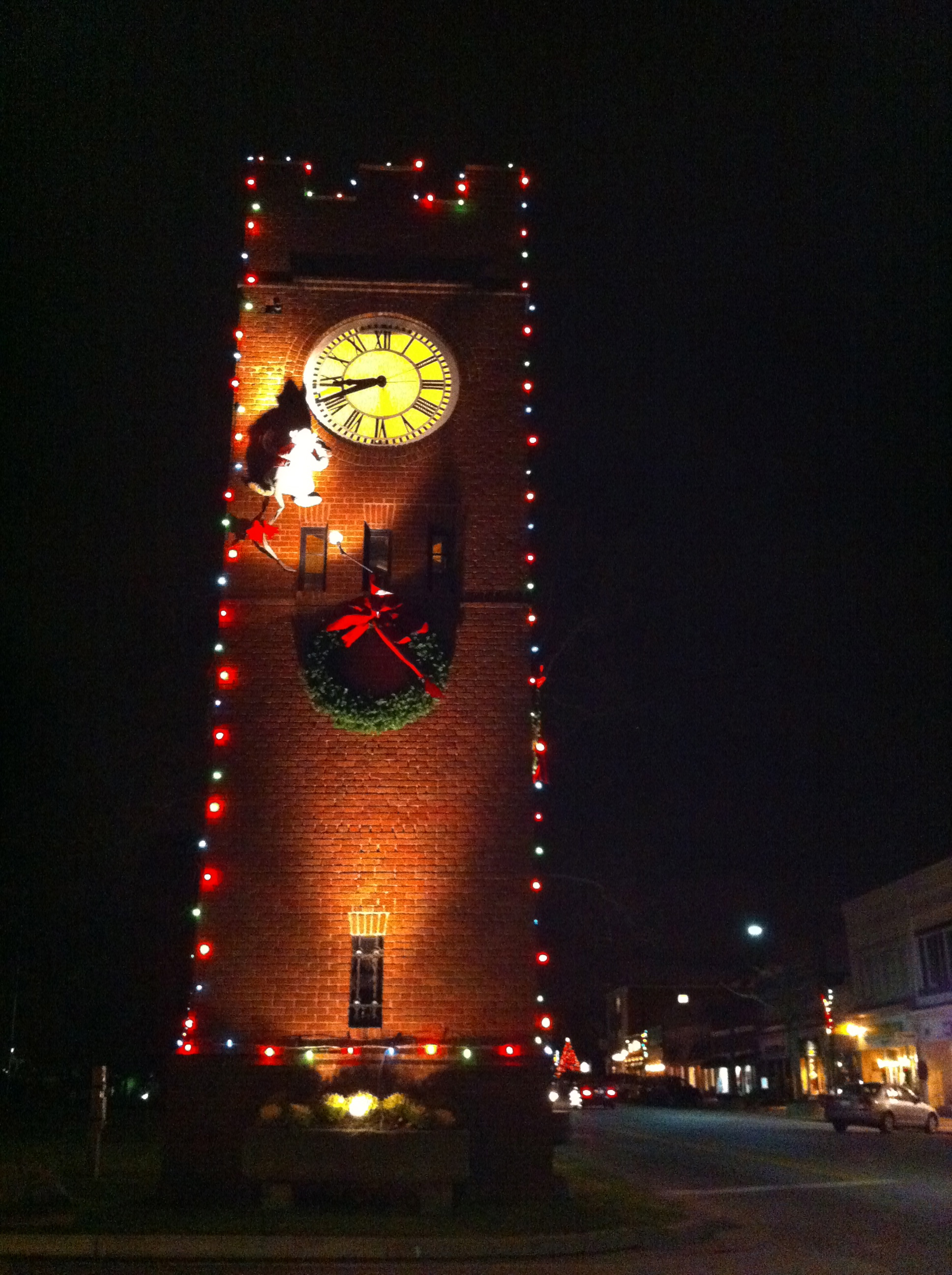 Clocktower with mouse